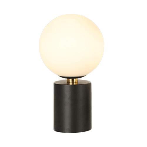 Lámparas de Mesa Posmoderna Luxury Light lámpara de Mesa lámpara de cabecera Simple Dormitorio Sala de Estar Creativa Estudio Bola de Cristal táctil inducción lámpara de Mesa Casa