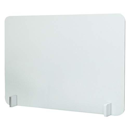 Nuobesty Trennwand für Schreibtisch, Sichtschutz, PVC, abnehmbar, für Büro, Schule, 39,9 x 39,9 cm