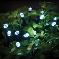 Gardman L24006 19.5 x 6.5 x 19 cm Dual Power 200-LED String Lights - White