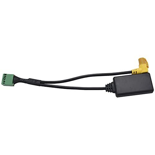 Jeromeki MMI 3G Ami 12-Pin Aux Cable Adaptador Entrada De Audio InaláMbrica para Q5 A6 A4 Q7 A5 S5
