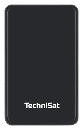 TechniSat STREAMSTORE Externe Festplatte 1 TB - Externe Festplatte (1000 GB, 2.5 Zoll, 3.1, 5 Gbit/s, USB-Anschluss, Schwarz)