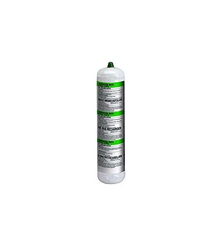 Telwin 802048 Bombona Gas argón+CO2, 1 l, no recuperable