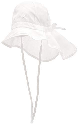 Döll Baby-Mädchen Nackenschutz Leinen Sonnenhut, Mehrfarbig (Original 1000), (Herstellergröße: 49)