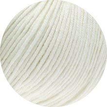Lana Grossa Organico (GOTS & ICEA-Zertifiziert) 07 - Weiß