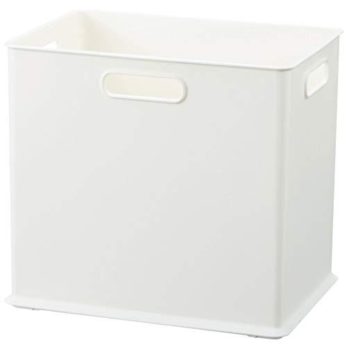 サンカ 収納ボックス SDサイズ ホワイト色 (幅264×奥行192×高さ236) squ+ インボックス SQB-SD-WH 日本製