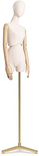 Tailors Dummy jurk vormen Accessoires Mannequin Bust Dressmaking Plastic Gesp Hangende Arm Plank mannequin volledige lichaam