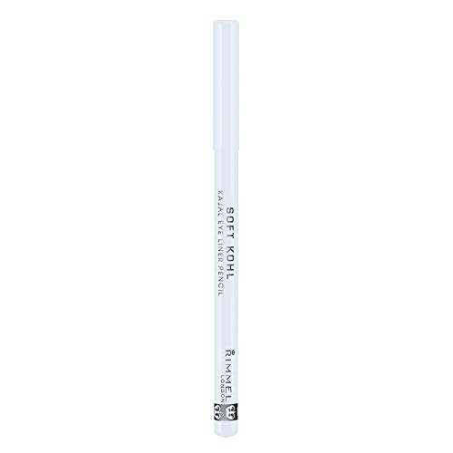 Rimmel London Soft Khol Kajal Eyeliner Pencil Liners Tono 071 Pure White - 4 gr