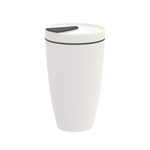 To Go Kaffeetasse, groß, 350 ml, Weiß