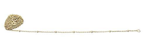 Hobra-Gold Fijne gouden ketting 333 gouden bolletjes delicate halsketting kogelketting 8 kt collier