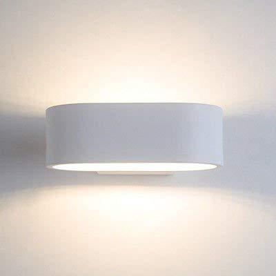 QSM Moderne minimalistische Innenwand-Leuchte, Macaron Schlafzimmer Bedide Wohnzimmer Staircae dekorative Hintergrund-Wand-Lampe dunkelgrau, Hintergrund-Wand-Beleuchtung