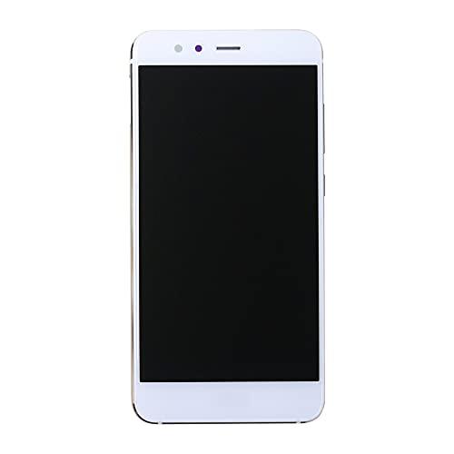 SwarKing Pantalla LCD compatible con Huawei P10 Lite (color blanco sin marco), piezas de repuesto con herramientas gratuitas