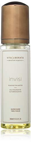 Vita Liberata Advanced Organics invisi Foaming Tan Water, Super Dark, 6.76 Fl Oz