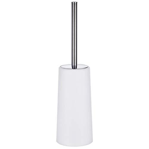 Toilettenbürste und Halter 1 Packung Toilettenbürste mit langem Griff aus Edelstahl 304 (Weiß)