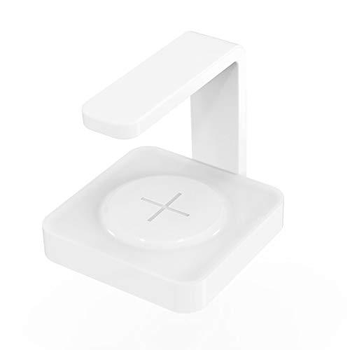 Kinshops 2 In 1 Phone UV Sanitizer Wireless Fast Charging Portable Phone Ultraviolet Disinfection Lamp Cellphone UV Sterilizer