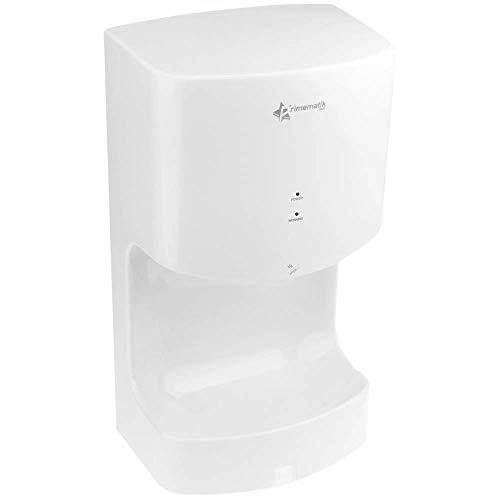 PrimeMatik - Secamanos eléctrico de Pared con recogedor de Agua. Secador de...