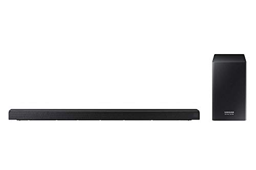 Samsung Harman/kardon 5.1-Kanal Soundbar HW-Q60R (integrierter Subwoofer, Bluetooth, Surround Ready - Kompatibel mit SWA-8500S, Game Mode Pro) Kohlschwarz