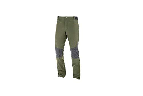 SALOMON - Wayfarer AS Alpine Pant – Pantalon de trekking Taille 52 Olive/gris