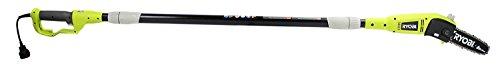 "Ryobi RY43160 6 Amp 8"" Bar Electric Corded 9 Foot Pole Saw Tree Pruner Trimmer"