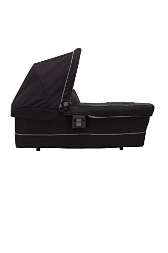 Graco Time2Grow Carrycot/Bassinet (Birth to 6 Months Approx, 0-9 kg), Black