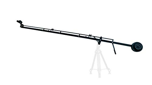 Camgear DSLR Video Camera Crane Jib DSLR Tilt with 11.5 feet Length   Heavy Duty Yet Lightweight, Best Travel/Indoor/Outdoor Aluminum Crane with LCD Arm and Bag