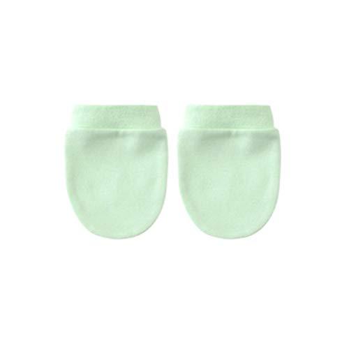 JOYKK 1 paar katoenen gemengde baby handschoenen krasbescherming handschoen zuigelingen douche geschenken - 44#