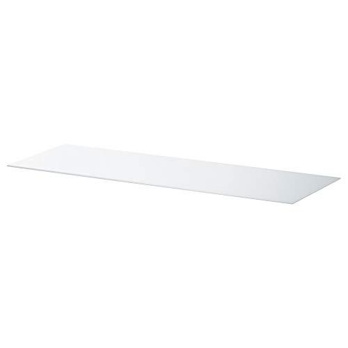 BESTÅ bovenpaneel 120x40 cm glas wit