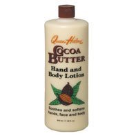 Cocoa Butter Lotion, Cocoa Butter 2 oz (Pack of 2) by Queen Helene