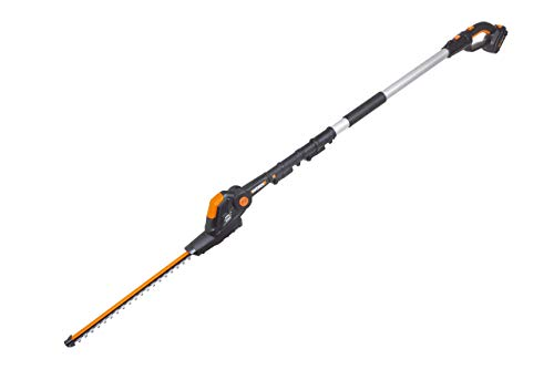 Cheapest Prices! WORX WG252 20V Attachment Capable Hedge Trimmer, 20, Black and Orange (Renewed)