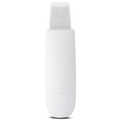 Gesichtsmassagegerät BZ-0113Ultraschall-Hautwaschmittel Erfrischungsinstrument Ultraschall-Ionen-Hautreiniger Gesichtsreinigungsklinge Schönheitsinstrument Weiß
