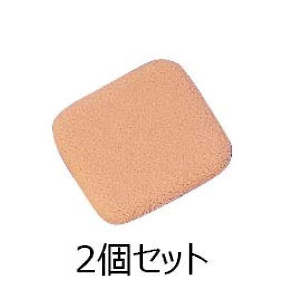 つなぐ砂保証アクセーヌ ソフトタッチパウダー パフ 2個セット