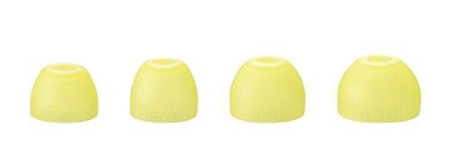 Sony MDR-AS410AP Sport-Kopfhörer (Spritzwassergeschützt, integriertes Mikrofon, Freisprecheinrichtung) gelb
