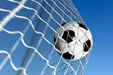 Netsportique Fußballtornetz, Fußball Tornetz 2,4m x 1,8m (Polypropylen, 1.6mm)