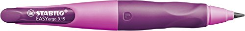Portaminas ergonómico STABILO EASYergo START – Cuerpo rosa – Modelo para ZURDOS