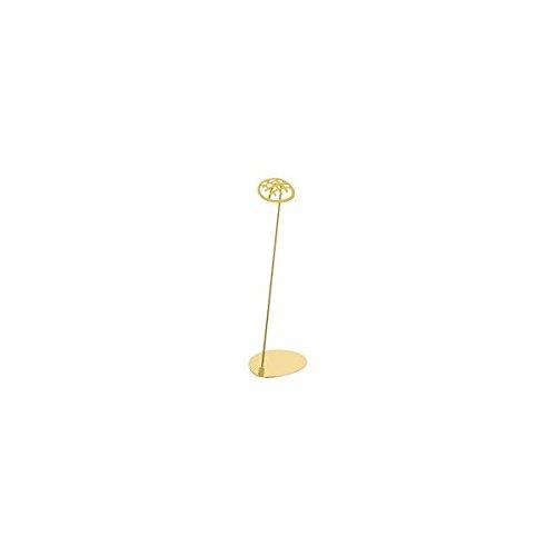 アズワン パン屋さんのPOPスタンド メロンパン 20cm ゴールド/62-6582-92
