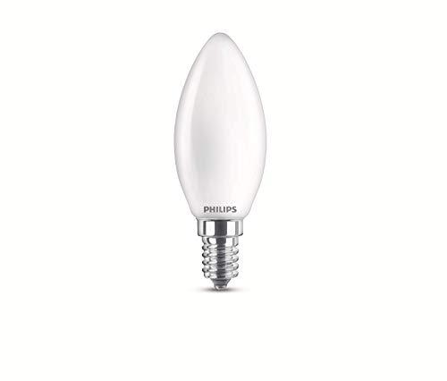 Philips LEDclassic 60W, E14, warmwit (2700 Kelvin), 806 lumen, mat LED-lamp, glas, 6,5 W