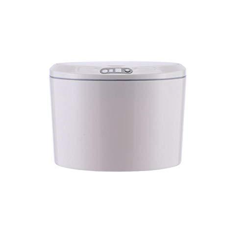 HUA JIE Sensor Inteligente Automático Bote De Basura Bote De Basura Inodoro Bote De Basura Cubierta Automática Baño Dormitorio Oficina Cocina