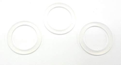 Silikonring für Schnullerkette I 3er-Set O-Ringe I BPA-frei