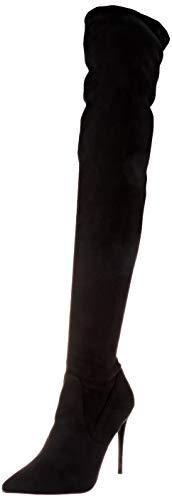 Steve Madden Damen Dade Overknee-Stiefel, schwarz, 40 EU