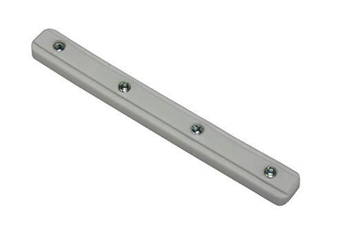 Gardinia Schienenverbinder für Aluminium-Vorhangschiene weiß, Zutreffend