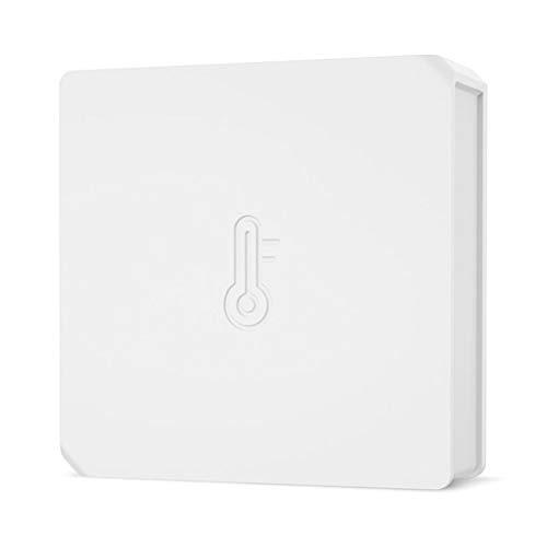 rongweiwang SNZB-02 Zimmer WiFi Temperaturfühler Alarm Funk-Temperatursensor Alarm Echtzeit Feuchtigkeit Wireless Sensor Alarm