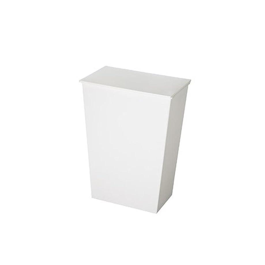 緩める茎悪意クード シンプル ワイド kcud simple wide [ ホワイト ] ゴミ箱 ふた付き