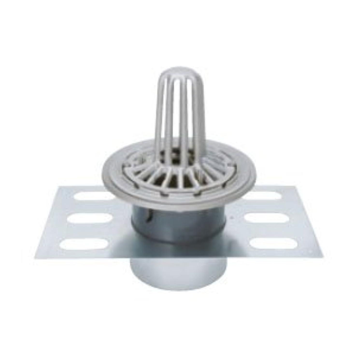 独立した振りかけるラバカネソウ ステンレス鋳鋼製ルーフドレイン たて引き用 デッキプレート打込型 屋上用(呼称150) EDSSP-2-150