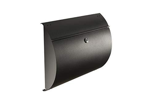 Spira Stainless Steel Wall Mount Mailbox SPA-M002BLK - 14-3/4
