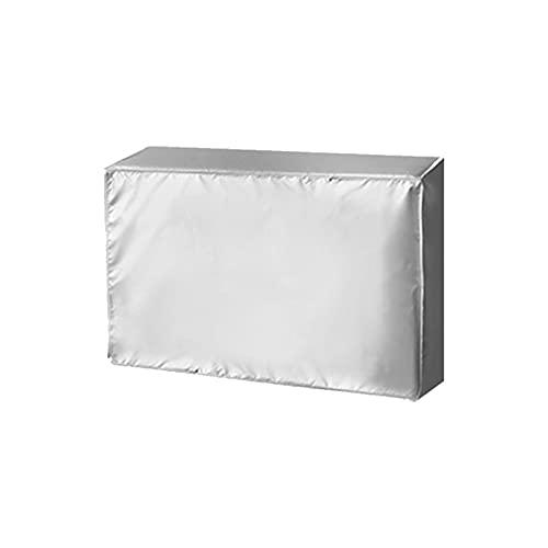 Arbitra - Copertura protettiva per condizionatore d'aria per esterni impermeabile doppio tessuto e protezione UV, anti-polvere, anti-neve, impermeabile al sole