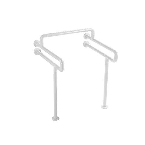 Gpzj Toilettenrahmen Kommode Stuhlhöhe Verstellbare freistehende Hilfe für ältere Menschen mit Behinderung - A.