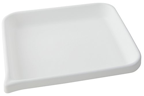 Dynalon 409214 HDPE Developing Flat Bottom Tray, 13.25