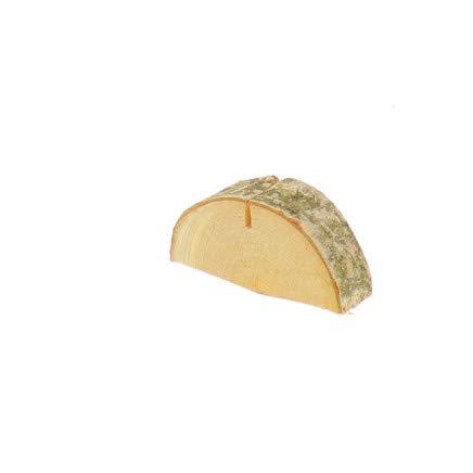 Hofmeister Houten tafel kaartenhouder boomschijf van berk 6,5 cm