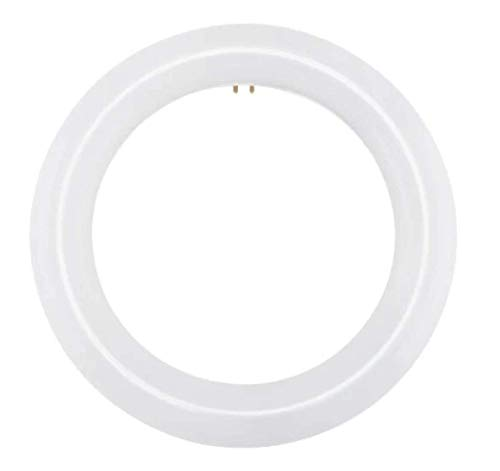 NYLL - 9 Inch/ 9' Plug & Play T9 Circline LED Lamp - Daylight (6000K) Circular Bulb Directly Relamp & Replace 30W Fluorescent Bulb FC9T9, FCL30 (Without rewiring or Modification) - Ballast Required!