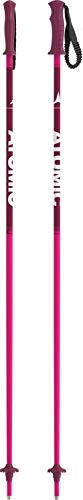 Atomic - 1 Par de bastones de esquí para niños, 105 cm, Aluminio, AMT JR, Rosa, AJ5005604105 ⭐