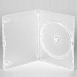 100custodie per DVD singole trasparenti, 14mm, di DragonTrading